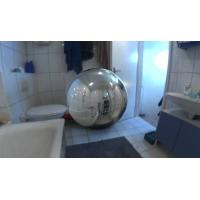 2.5 m Inflatable Mirror Ball Inflatable Advertising Products  For  Advertising Manufactures
