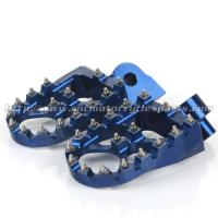 CNC Milled Dirt Bike Foot Pegs With Removable And Replaceable Teeth Manufactures