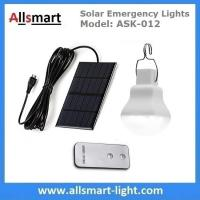 Buy cheap 240lm Portable Solar Emergency Lights Rechargeable Solar Camping Lights with from wholesalers