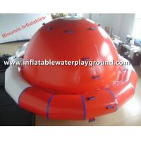 Quality Water Park Toys Adults Inflatable Saturn Rocker For Water Game Sports for sale
