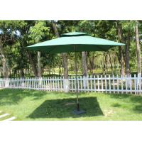 Promotional Rectangular Market Umbrella 240g Polyester Fabric Without Fringe Manufactures