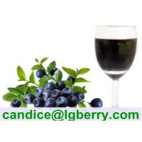 100% Natural blueberry juice concentrate Manufactures