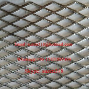 platform hot dip galvanized expanded metal mesh / expanded metal shelving Manufactures