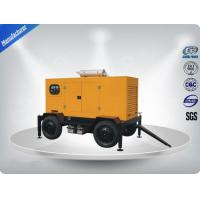 Easy moving Tralier type 400KVA genset diesel generator With Cummins Engine NTAA855- G7A Manufactures
