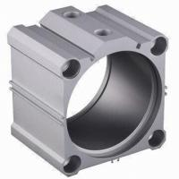 Mill finihsed 6063 Industrial Aluminium Profile Cylinder Shell With CNC Machining Manufactures