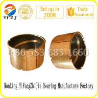 Self-lubracation bush coat PTFE Teflon,DU oilless bearing bushing Manufactures