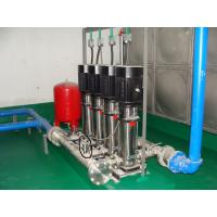 China Corrosion Resistance Water Booster Pump System , Energy Saving on sale