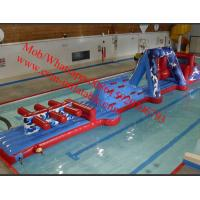 Inflatable junior swim inflatable water playground inflatable water obstacle course Manufactures