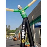 China Inflatable air dancer / air tubes / inflatable sky man double leg air man on sale