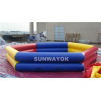 Durable PVC Inflatable Swimming Pools With  0.9mm Or 0.6mm Material Manufactures