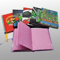 Quality Art Paper Custom Notebook Printing Service , Spot UV / Hot Foil Stamping Finishing for sale