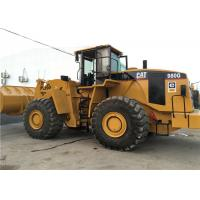 Caterpillar 980G Second Hand Wheel Loaders Front 5.5cbm Bucket Capacity Manufactures