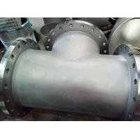 Buy cheap Butt Weld Fittings B366 Hastelloy C-276 BW Straight TEE welded with Flange 24'' from wholesalers