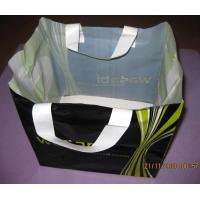 Hard Loop Handle Bags With Gravure Printing , Plastic Toy Bags Manufactures