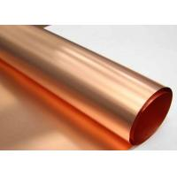 Low Profile ED Copper Foil More Than 0.8 N / Mm Peel Strength High Purity Manufactures