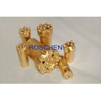 China R32 Ballistic Button Drill Bit Rock Drilling Tool For Underground Mining Tunneling on sale