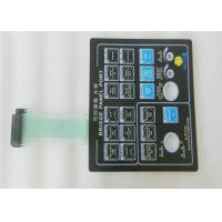 Quality Customized Touch tactile Membrane Switch Keypad With 3m Adhesive for sale