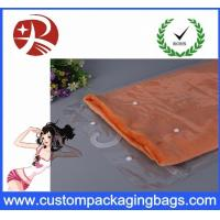 Buy cheap Waterproof Transparent Pvc Hook Bag For T - Shirt Packing , Eco Friendly from wholesalers