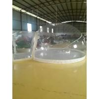 Inflatable Bubble Tent With Transparent PVC Tarpaulin Manufactures