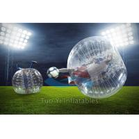 Kids Bubble Ball Game / Inflatable Body Zorb Bubble Soccer Ball Manufactures