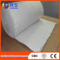 LYGX-112 White Ceramic Fiber Blanket Fire Resistance With Insulation Performance Manufactures