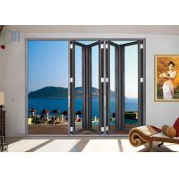Toughened Double / Single Glass Aluminium Bifold Doors Partition For Banquet Hall Manufactures