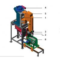 PVPE Pneumatic Valve Bag Packing Machine For Animal Pet Food / Powder / Granule Manufactures