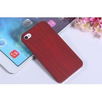 Quality Wood grain pattern Protective case for iPhone4s for sale