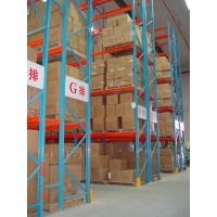 Heavy Duty Pallet Warehouse Racking / Metal Storage Shelves Manufactures