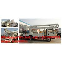 2018s SINO TRUK HOWO new 12-18m hydraulic aerial working platform truck for sale, High altitude operation truck Manufactures
