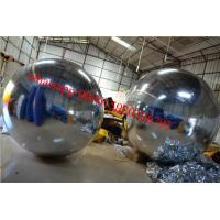 Customized Inflatable Disco Mirror Ball Advertising with fireproof Manufactures