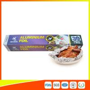 Disposable Food Grade Aluminum Foil Sheets Oil Resistant , Aluminium Sheet Roll Manufactures