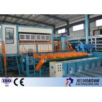 High Efficient Egg Tray Production Line , Egg Box Making Machine 25m*3m*4m Manufactures