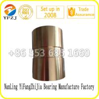 high quality competitive price for bushing bearing ,brass bush,copper bushing Manufactures