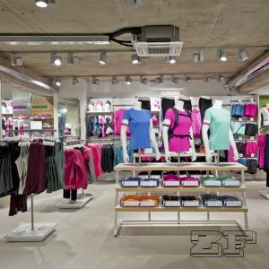 Fashion Retail Sports Garment Shop Interior Design Manufactures