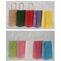 Promotional Customized corporate Paper Kraft Carrier Bag Printing with OEM/ ODM Available Manufactures