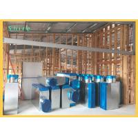Self - Adesive HVAC Duct Cover Shield  Blue Color Protection Film Customrized Logo Manufactures