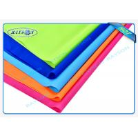 Orange Blue Red Flame Retardant Nonwovens PP Spunbond Non Woven Fabric for Furnitures Manufactures