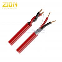 Plenum-Rated Fire Alarm Cable 12AWG 2C Solid Copper for Fire Protective Circuits Manufactures