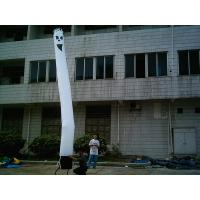 Professional Inflatable Air Dancer , Cute white Cartoon Characters Manufactures