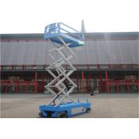 China Extendable Rough Terrain Scissor Lift Sturdy Heavy Base User Friendly For Tight Spaces on sale