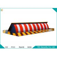 Manual Vehicle Retractable Barrier Gate 380 V Security Road Blocker Manufactures