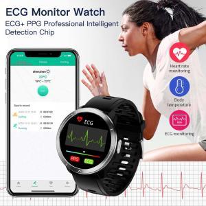 H18 ECG PPG HRV SPO2 Smart Fitness Tracker H18 Monitor Blood Oxygen Pressure Monitoring Smart Bracelet Manufactures