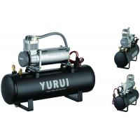 Heavy Duty Durable Portable Compressed Air Tank For Cars Fast Inflation Black Manufactures