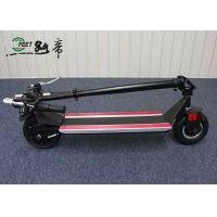 High Speed Folding Electric Scooter , Black Foldable Motorized bike for Adults Manufactures