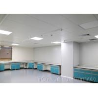 China C - Type Frame Chemical Storage Cabinets , Gas Fitting Science Lab Countertops on sale