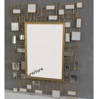 Unique Design Mirror Art Wall Decor , Rectangle Modern Mirrored Wall Art Manufactures