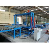 Polyurethane Foam Block Cutting Machine with Knife Belt Type / Saw Toothed Type Manufactures