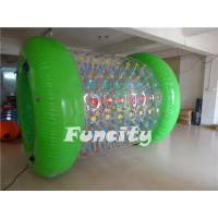 Outdoor Green Color Inflatable Walk On Water Ball For Adults / Kids Manufactures