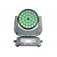 450W Led Moving Wash Light , 36x10w Rgbw 4in1 Led Zoom Moving Head Light Manufactures
